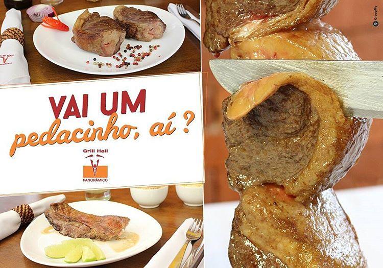 <p>Bom dia! Para quem já está pensando no almoço, que tal um churrasco hoje? Vem pra cá! #eunogrillhall #churrasco #omelhor #gaucho #almoco #tradicao #qualidade #gauderio #sul</p>