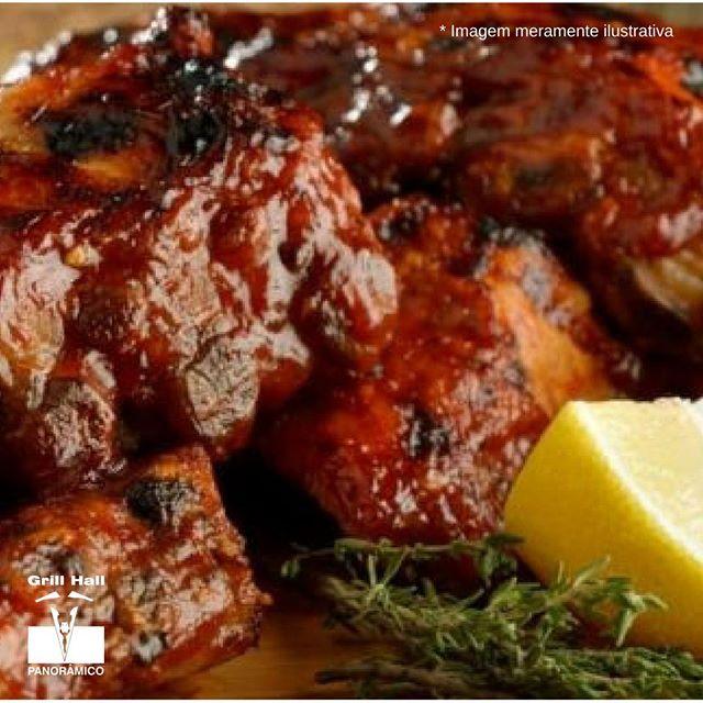 <p>Uma carne de porco bem assada é de dar água na boca. E para acompanhar, molho barbecue, a deixando ainda mais saborosa. Quem curte?</p> <p>#EuNoGrillHallPanorâmico #eunogrillhall #ChurrascoTodoDia #molhobarbecue #carnedeporco</p>