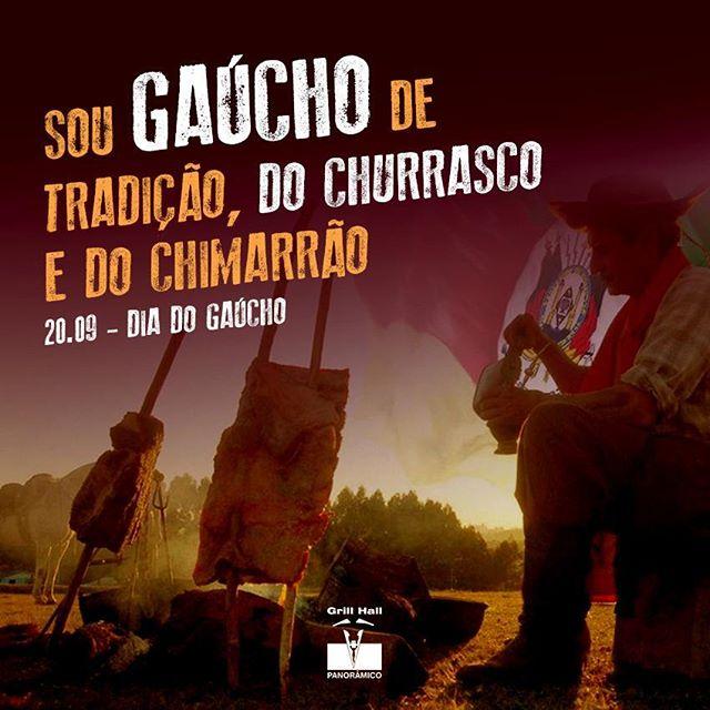 <p>Churrasco e bom chimarrão, é disso que o gaúcho gosta, é isso que o gaúcho quer nos 365 dias do ano.??? #EuNoGrillHallPanorâmico #eunogrillhall #ChurrascoTodoDia #diadogaucho #tche #churrascoechimarrao</p>