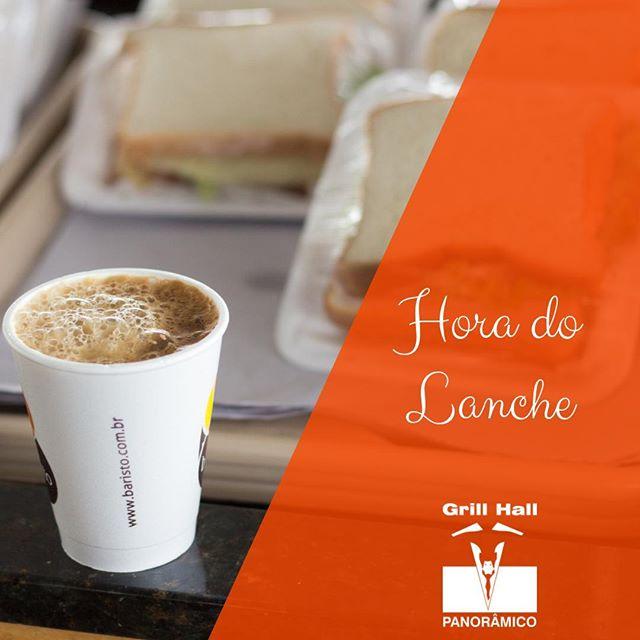 <p>Pensou num lanche? Pense no Grill Hall Panorâmico. Está passando pela cidade? Passa no Grill Hall Panorâmico para recarregar suas energias e seguir viagem. Nossa Conveniência está aberta 24h.</p> <p>#EuNoGrillHallPanorâmico #eunogrillhall #ChurrascoTodoDia #cafe #lanches #sanduiches #paodequeijo</p>
