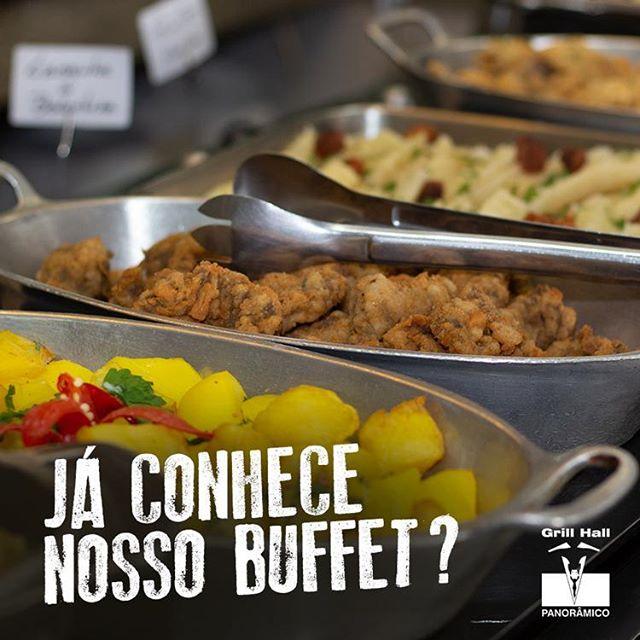 <p>Nosso Buffet de Pratos Quentes é um sucesso devido a sua grande variedade.??? Para muitos, ele é suficiente enquanto para outros é perfeito para complementar o Rodizio de Carnes. Além dos pratos maravilhosos que você encontra, o preço é mais que especial. Vem conferir!</p> <p>#EuNoGrillHallPanorâmico #eunogrillhall #ChurrascoTodoDia #buffet</p>