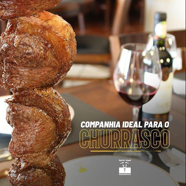 <p>O vinho é um companheiro incrível para o churrasco. E o #GrillHallPanoramico dispõe de uma adega com os melhores vinhos para harmonizar com nosso Rodízio de Carnes.</p> <p>#EuNoGrillHallPanorâmico #eunogrillhall #ChurrascoTodoDia #vinhoechurrasco #vinho</p>