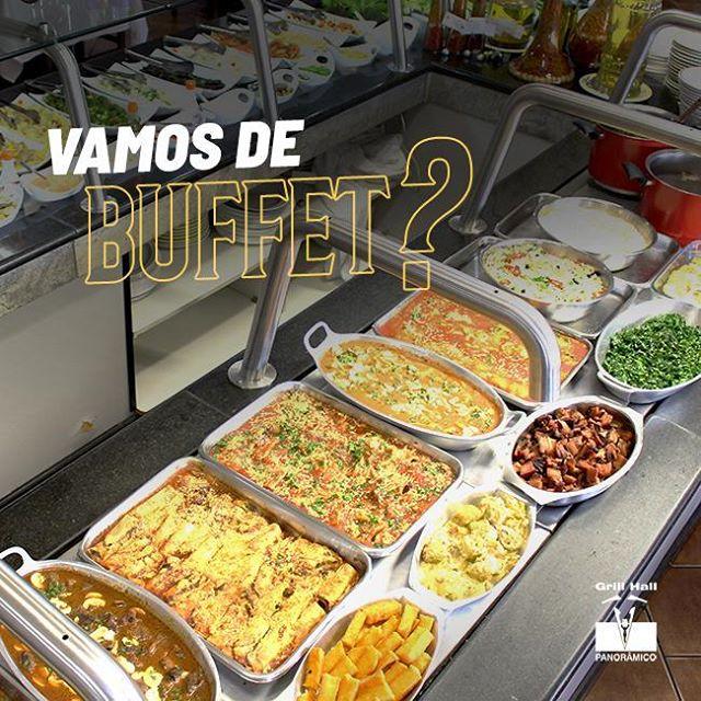 <p>Se você procura por variedade e qualidade está no lugar certo. Nosso Buffet de Saladas, Pratos Quentes e Sobremesas é uma ótima opção para você. Vem pro #GrillHallPanoramico e desfrute do melhor Buffet da cidade.</p> <p>#EuNoGrillHallPanorâmico #eunogrillhall #ChurrascoTodoDia #buffet</p>