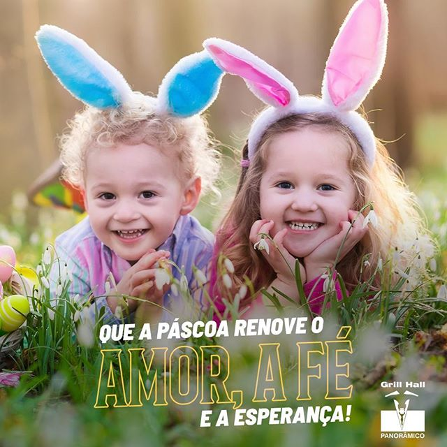 <p>Feliz Páscoa a todos e suas famílias! ???<br /> ?<br /> #EuNoGrillHallPanorâmico #eunogrillhall #ChurrascoTodoDia #felizpascoa #pascoa?</p>
