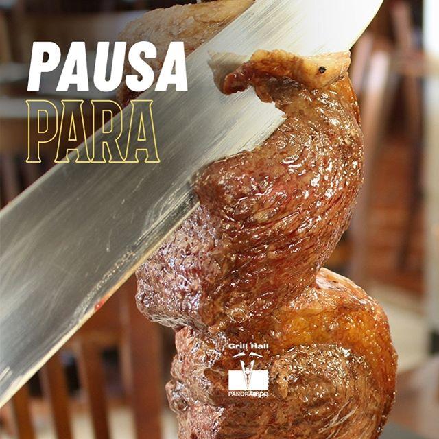 <p>Vamos dar aquela pausa para desfrutar do Rodízio de Carnes do #GrillHallPanoramico? Esperamos você com uma variedade de mais de 20 cortes de carne e nosso variado Buffet de Pratos Quentes e Saladas.</p> <p>#EuNoGrillHallPanorâmico #eunogrillhall #ChurrascoTodoDia</p>