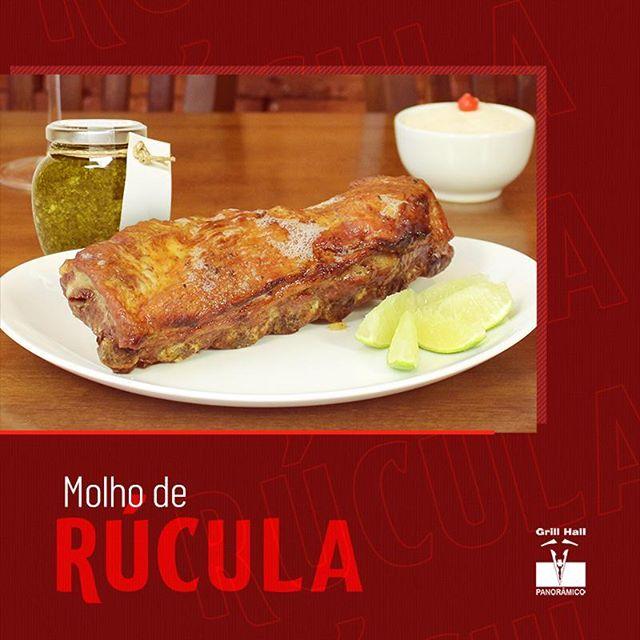 <p>O Molho de Rúcula entrega leveza, um ardidinho e um sabor marcante quando combinado com o churrasco. Ele cai muito bem com diferentes carnes que você encontra em nosso Rodízio de Carnes. No seu próximo almoço/jantar no #GrillHallPanorâmico, prove nosso Molho de Rúcula, você não vai se arrepender. ??<br /> ?<br /> *Imagem meramente ilustrativa.?<br /> ?<br /> #EuNoGrillHallPanorâmico #eunogrillhall #ChurrascoTodoDia #molhoderucula?</p>