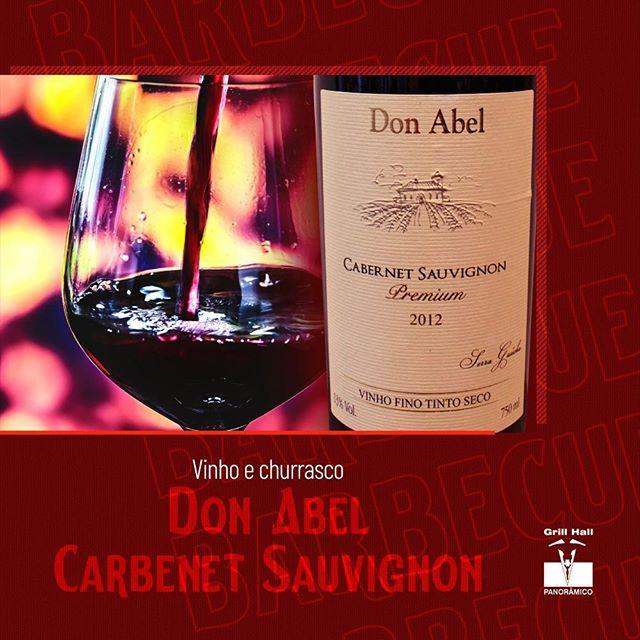 <p>Um churrasco de tradição combinado com um vinho Don Abel Premiun Cabernet Sauvignon da magnífica safra de 2012, tem seu valor!??<br /> ?<br /> Esse vinho apresenta um equilíbrio entre os taninos e a acidez. O ponto alto deste vinho são os taninos presentes e elegantes que se completam em retrogosto longo e agradável.?<br /> ?<br /> Conheça a nossa adega, a qual oferece vinhos de qualidade nacionais e internacionais.??<br /> ?<br /> #EuNoGrillHallPanorâmico #eunogrillhall #ChurrascoTodoDia #vinhoechurrasco #vinho #donabel?</p>