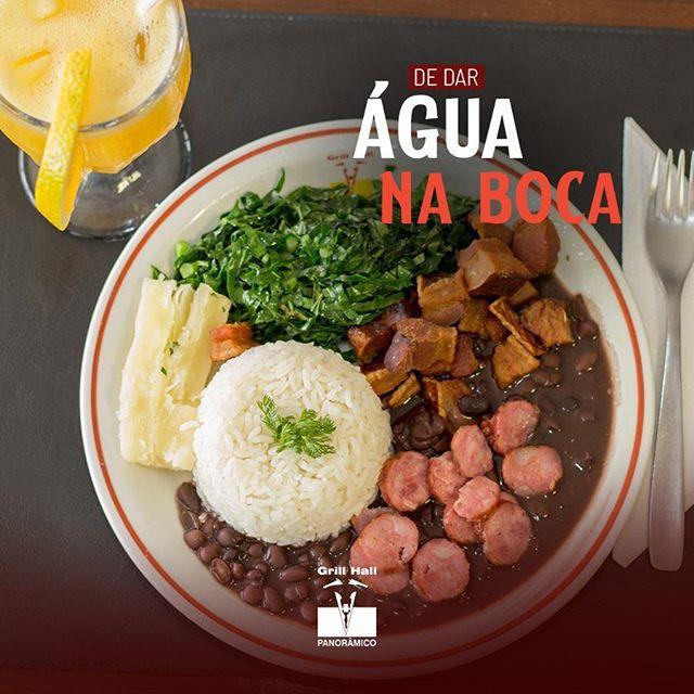 <p>#GrillHallPanoramico apresenta a sua tradicional e deliciosa feijoada aos sábados! ??<br /> ?<br /> Se você quiser deixar sua refeição mais completa, temos nosso variado Buffet de Pratos Quentes e Saladas, e para fechar a refeição, um Buffet de Sobremesas.??<br /> ?<br /> #EuNoGrillHallPanorâmico #eunogrillhall #ChurrascoTodoDia #feijoada #sabado?</p>