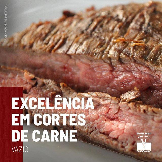 <p>O Vazio está localizado abaixo das costelas do boi, é uma carne macia por ser bastante irrigada e ser um músculo que não faz muito esforço. A ponta é gorda, a qual lembra a picanha, enquanto sua parte inferior é magra. Este um corte que agrada o público em geral e faz parte do nosso tradicional Rodízio de Carnes.?<br /> ?<br /> #EuNoGrillHallPanorâmico #eunogrillhall #ChurrascoTodoDia #excelenciaemcortesdecarne #carne #vazio #churrasco?</p>